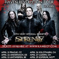 Aeverium, Serenity, Kamelot in Hedon Zwolle 24-04-2016
