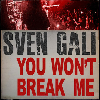 Sven Gali - You Won't Break Me