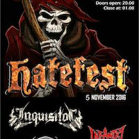 Hatefest, 5 november, Walhalla Deventer