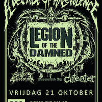 Legion Of The Damned, Cliteater & Sisters Of Suffocation @ P60
