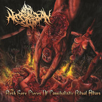 Necropsy Defecation - Flesh Gore Pieces of Cannibalistic Ritual Altars